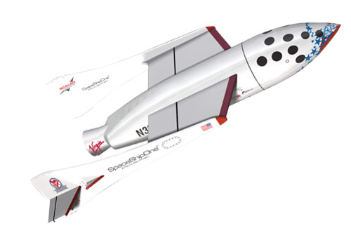X-Prize Space Ship One 2